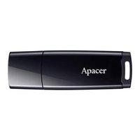 Apacer USB flash disk, 2.0, 32GB, AH336, černý, černá, AP32GAH336B-1, s krytkou