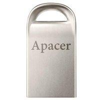 Apacer USB flash disk, 2.0, 64GB, AH115, stříbrný, AP64GAH115S-1