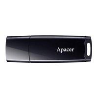 Apacer USB flash disk, USB 2.0, 64GB, AH336, černý, AP64GAH336B-1, USB A, s krytkou