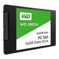 "Interní disk SSD Western Digital 2.5"", SATA III, 240GB, WD Green, WDS240G2G0A černý, 430 MB"