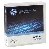 HP Ultrium RW LTO 5, 1100 (1,1 TB)/GB 3000 (3 TB)GB, labeled, světle modrá, C7975AL, pro archivaci d