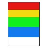 Logo etikety 210mm x 297mm, A4, matné, barevný mix, 1 etiketa, 180g/m2, baleno po 10 ks, pro inkoust