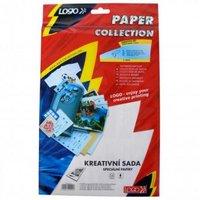 Logo, papíry a fólie, kreativní sada, A4 + 10x15cm, 5 listů, pro inkoustové tiskárny, L