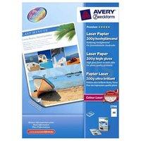 Avery Zweckform Premium Laser Paper, foto papír, vysoce lesklý, bílý, A4, 200 g/m2, 100 ks, 2798, la