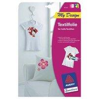 Avery Zweckform, zažehlovací papír, pro bílá trička, bílý, A4, 5 listů, pro inkoustové tiskárny, O