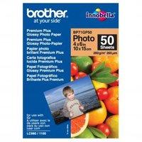 """Brother Premium Glossy Photo Paper, foto papír, lesklý, bílý, 10x15cm, 4x6"""", 260 g/m2, 50 k"""