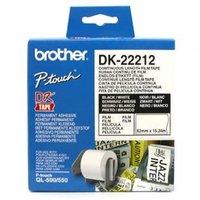 Brother filmová role 62mm x 15.24m, bílá, 1 ks, DK22212, pro tiskárny štítků