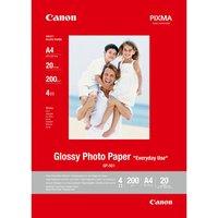 Canon Glossy Photo Paper, foto papír, lesklý, GP-501 typ bílý, A4, 210 g/m2, 20 ks, 0775B082, inkous