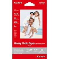 """Canon Glossy Photo Paper, foto papír, lesklý, GP-501 typ bílý, 10x15cm, 4x6"""", 210 g/m2, 50"""