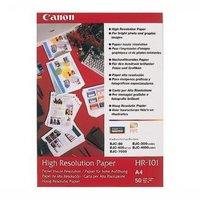 Canon High Resolution Paper, foto papír, speciálně vyhlazený, bílý, A4, 106 g/m2, 50 ks, HR-101 A4/5