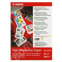 Canon High Resolution Paper, foto papír, speciálně vyhlazený, bílý, A4, 106 g/m2, 200 ks, HR-101 A4,