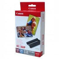 Canon Etikety, papír, bílá, 86x54mm, 36 ks, pro termosublimační tiskárny CP-220/330, 7739A001AH
