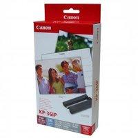 """Canon Papír pro termosublimační tiskárny, papír, bílý, CP-220, 330, 10x15cm, 4x6"""", 36 ks, K"""