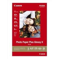 "Canon Photo Paper Plus Glossy, foto papír, lesklý, bílý, A3+, 13x19"", 275 g/m2, 20 ks, PP-2"