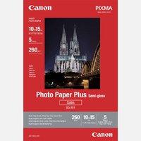 """Canon Photo Paper Plus Semi-Glossy, foto papír, pololesklý, saténový, bílý, 10x15cm, 4x6"""","""