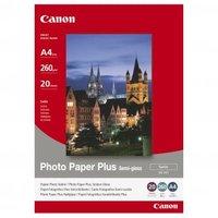 Canon Photo Paper Plus Semi-Glossy, foto papír, pololesklý, saténový, bílý, A4, 260 g/m2, 20 ks, SG-