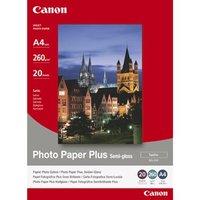 """Canon Photo Paper Plus Semi-Glossy, foto papír, pololesklý, saténový, bílý, 20x25cm, 8x10"""","""