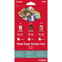 """Canon Photo Paper Variety Pack VP-101, foto papír, lesklý, bílý, 10x15cm, 4x6"""", 20 ks, 0775"""