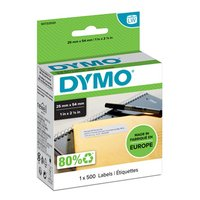 Dymo papírové štítky 54mm x 25mm, bílé, pro zpáteční adresu, 500 ks, 11352, S0722520