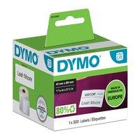 Dymo papírové štítky 89mm x 41mm, bílé, na jmenovky, 300 ks, 11356, S0722560