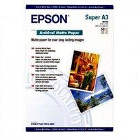 Epson Archival Matte Paper, bílá, 50, ks C13S041340, pro inkoustové tiskárny, 330x480mm (A3+), A3+,