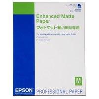 Epson Enhanced Matte Paper, bílá, 50, ks C13S042095, pro inkoustové tiskárny, A2, A2, 192 g/m2