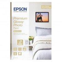 Epson Glossy Photo Paper, foto papír, lesklý, bílý, Stylus Color, Photo, Pro, A4, 255 g/m2, 15 ks, C