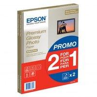 Epson Premium Glossy Photo Paper, foto papír, lesklý, bílý, A4, 255 g/m2, 30 ks, C13S042169, inkoust