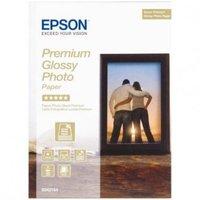 Epson Premium Glossy Photo Paper, foto papír, lesklý, bílý, Stylus Color, Photo, Pro, 13x18cm, 5x7&a