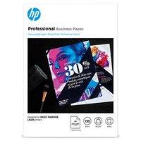 HP Professional Business paper, oboustranný papír, lesklý, bílý, A4, 180 g/m2, 150 ks, 3VK91A, ink,