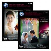 HP Premium Plus Glossy Photo Paper, foto papír, lesklý, bílý, A4, 300 g/m2, 20 ks, CR672A, inkoustov