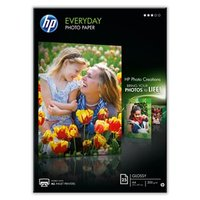 HP Everyday Glossy Photo Paper, foto papír, lesklý, bílý, A4, 200 g/m2, 25 ks, Q5451A, inkoustový