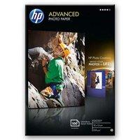 """HP Advanced Glossy Photo Paper, foto papír, lesklý, zdokonalený, bílý, 10x15cm, 4x6"""", 250 g"""