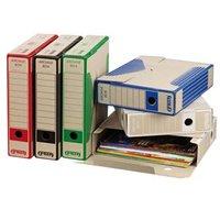 Box archivační, A4, 75mm, bílý, Emba