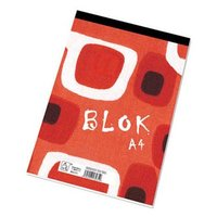 Blok linkovaný, A4, 50listů,poznámkový