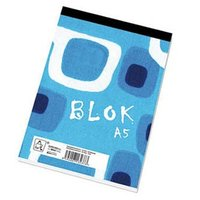 Blok čistý, A5, 50listů,poznámkový