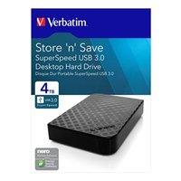 """Verbatim externí Externí pevný disk, Store,N,Save, 3,5"""", USB 3.0, 4TB, 47685, černá"""