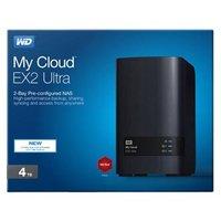 "Externí úložiště NAS, Western Digital, 3.5"", 4TB, My Cloud EX2 Ultra, USB 3.0/RJ45, WDBVBZ0"
