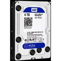 "Western Digital interní pevný disk, WD Blue, 3.5"", SATA III, 4TB, 4000GB, WD40EZRZ"