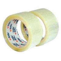 Lepicí páska transparentní, 48 mm x  66 m, 6ks, cena za 1ks