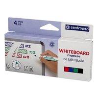Centropen, sada whiteboard marker 8559, color, 4ks, 2.5mm, alkoholová báze