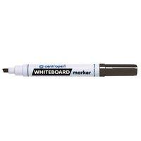 Centropen, whiteboard marker 8569, černý, 10ks, 1-4,5mm, alkoholová báze, cena za 1ks