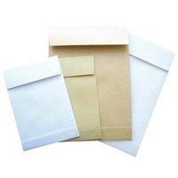 Obchodní taška samolepicí, B4, 250 x 353mm, bílá, Krpa, 25ks