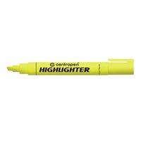Centropen, zvýrazňovač 8852, žlutý, 10ks, 1-4,6mm, cena za 1ks