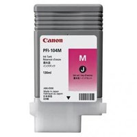 Canon originální ink PFI104M, magenta, 130ml, 3631B001, Canon iPF65x, 75x, 765