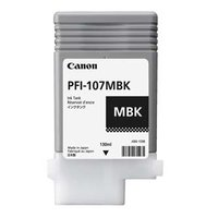 Canon originální ink PFI107MBK, matte black, 130ml, 6704B001, Canon iPF-680, 685, 780, 785