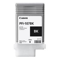 Canon originální ink PFI107BK, black, 130ml, 6705B001, Canon iPF-680, 685, 780, 785