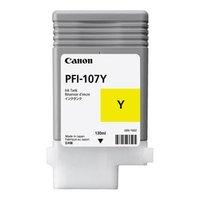 Canon originální ink PFI107Y, yellow, 130ml, 6708B001, Canon iPF-680, 685, 780, 785