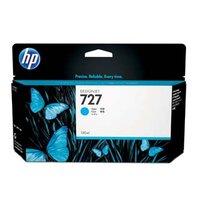 HP originální ink B3P19A, HP 727, cyan, 130ml, HP DesignJet T1500, T2500, T920