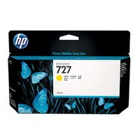 HP originální ink B3P21A, HP 727, yellow, 130ml, HP DesignJet T1500, T2500, T920